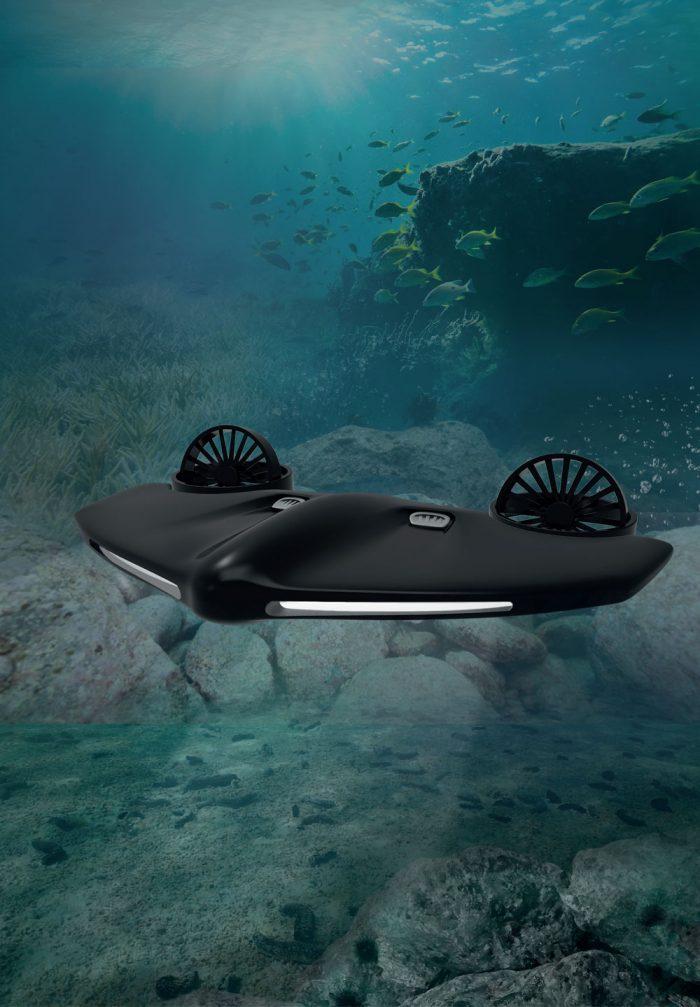 바닥 사막화 관리를 위한 수중 로봇 디자인