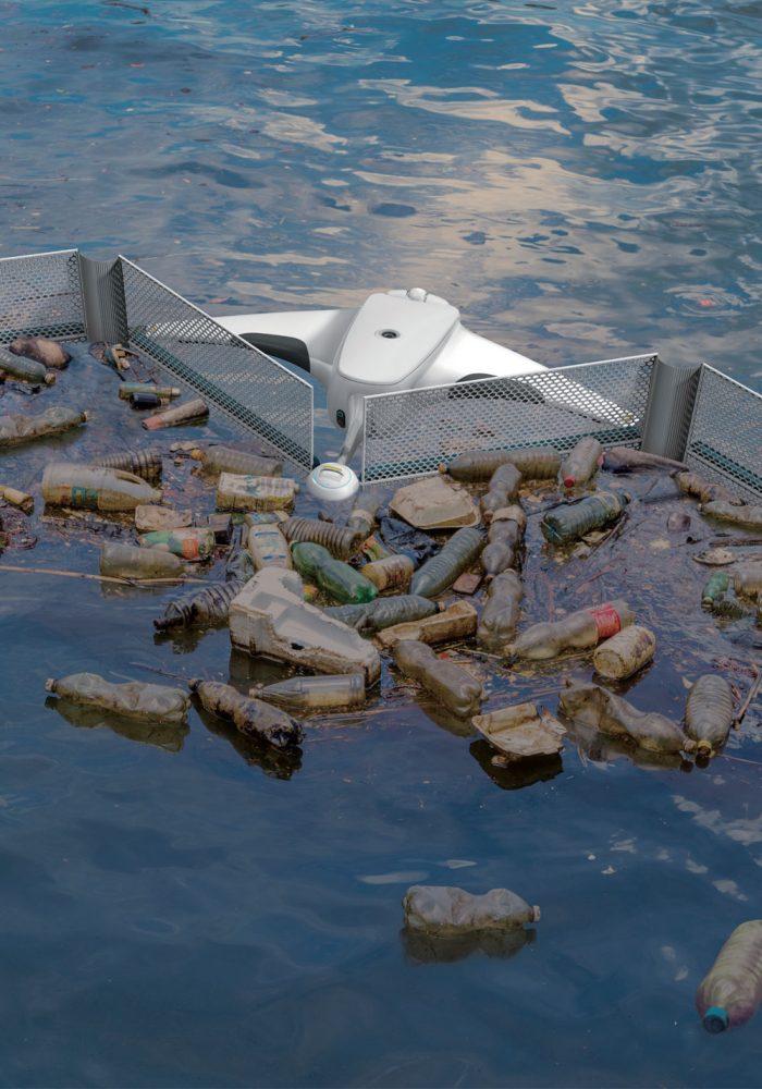 해양 부유쓰레기 수거 시스템 디자인