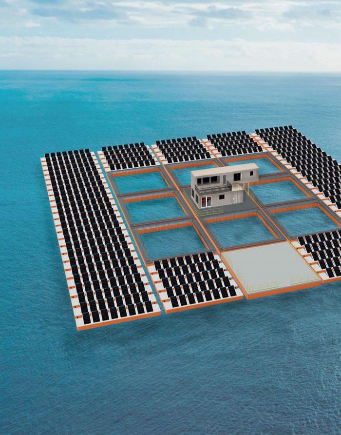 해상 가두리 양식장 시스템 디자인