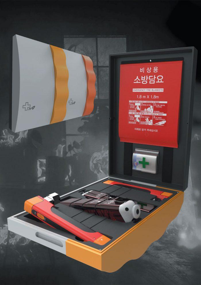 화재시 긴급탈출을 위한 가정용 툴셋 디자인