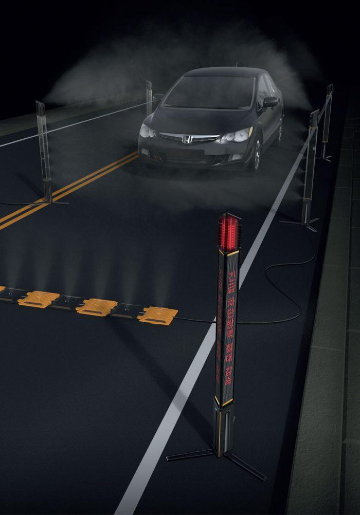 가축질병 예방을 위한 차량방역 시스템 디자인