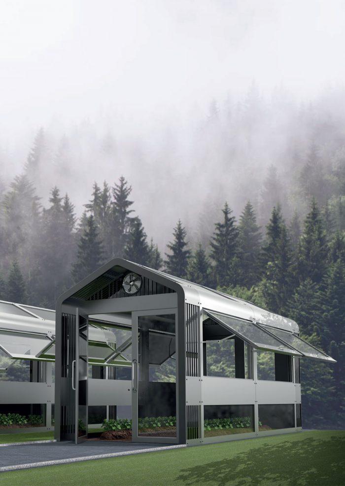 소작농을 위한 모듈형 온실하우스 시스템 디자인