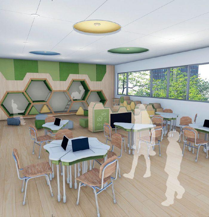 디지털 기반 초등 교육 공간
