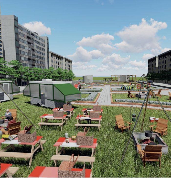 연남로드_도심 속 여유와 소통의 녹지공간